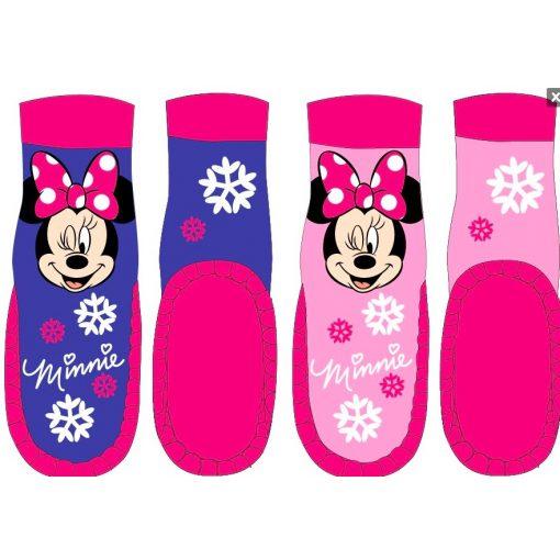 Disney Minnie bőrtalpú zokni