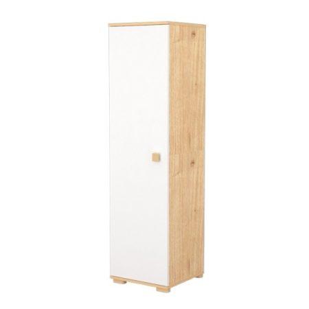 1 Ajtós álló szekrény FANNI Mandula - fehér