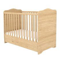 Zárt végű ágyneműtartós gyermekágy Mandula