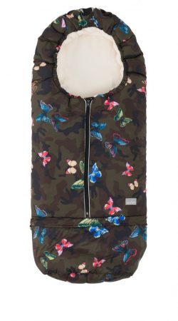 Nuvita AW Carry On 2 az 1-ben bundazsák 80/105cm - Butterfly Camouflage / Beige - 9845
