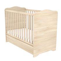 Zárt végű ágyneműtartós gyermekágy Borostyán